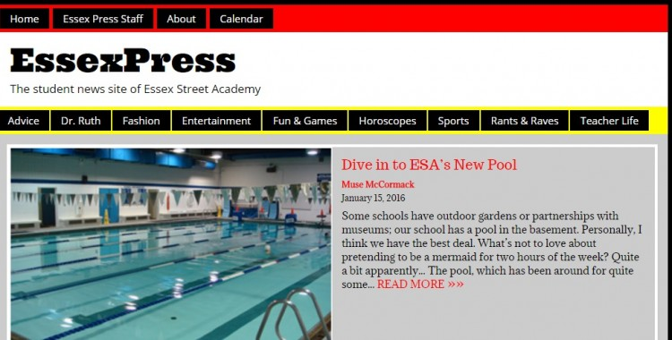 ESA Times - Our Online Newspaper!